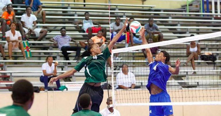 Dominica vs Anguilla Volleyball