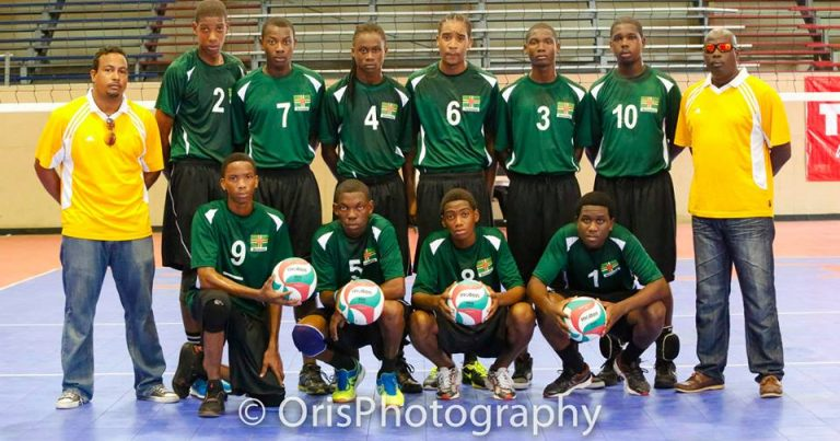 U-21 Volleyball Players