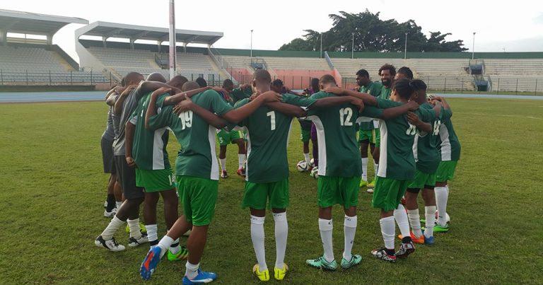 Guadeloupe vs Dominica Football