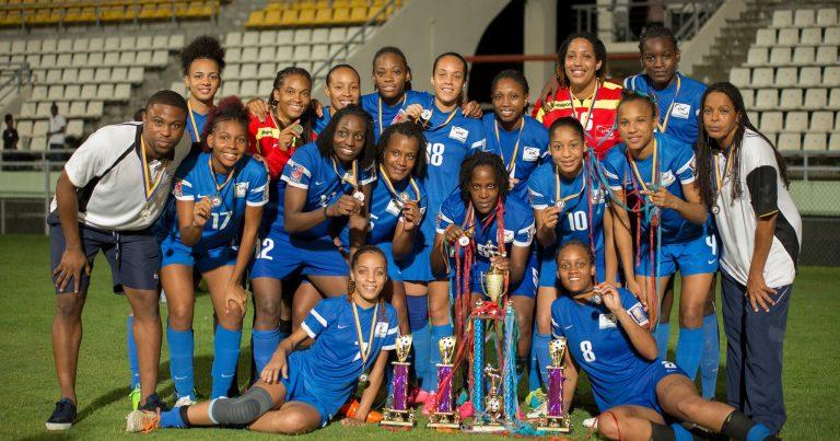 Martinique Winners of Windward Islands Women's Tournament