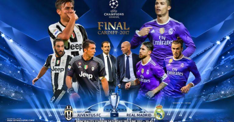 Juventus vs Real Madrid 2017