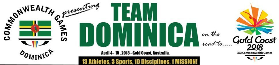 Team Dominica Commonwealth Games 2018