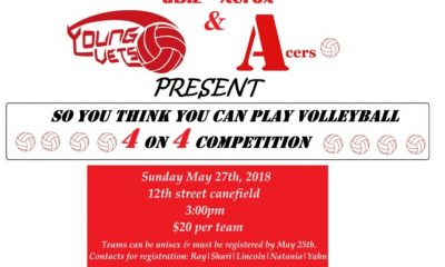 4x4 Volleyball