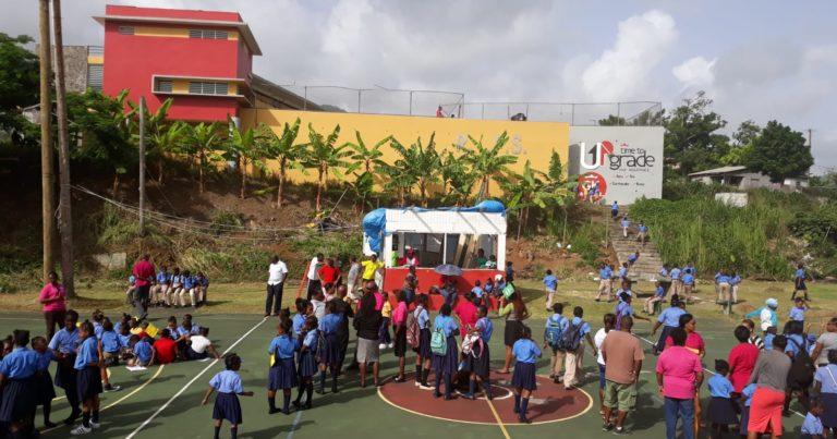 Hard court at Benjamins Park