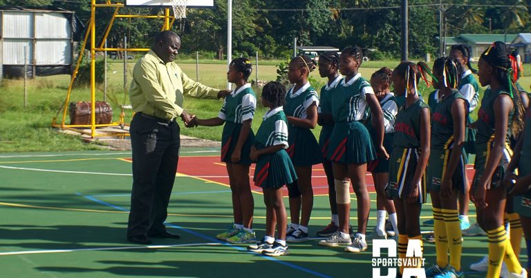Opening Ceremony for 13 and Under Netball Festival