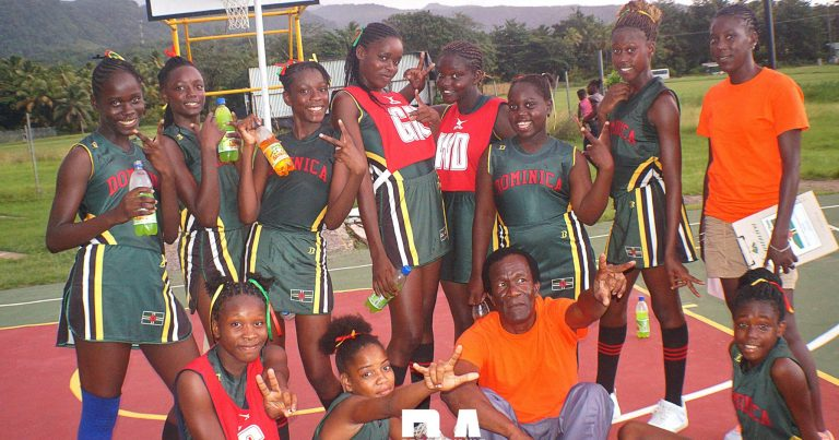 Dominica's 13 & Under National Netball Team Regains Title
