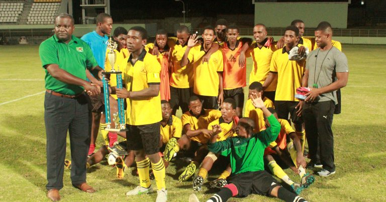 Goodwill secondary school are the u-20 football champions