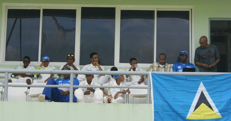 St. Lucia, champions of the 2016 WINLOTT Inc/Windward Islands U-15 Cricket Tournament