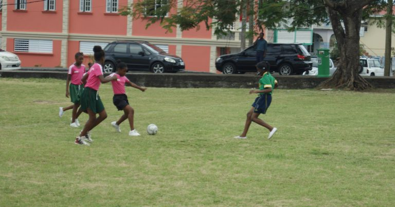 Finals of the NBD Primary School Girls Football Championship
