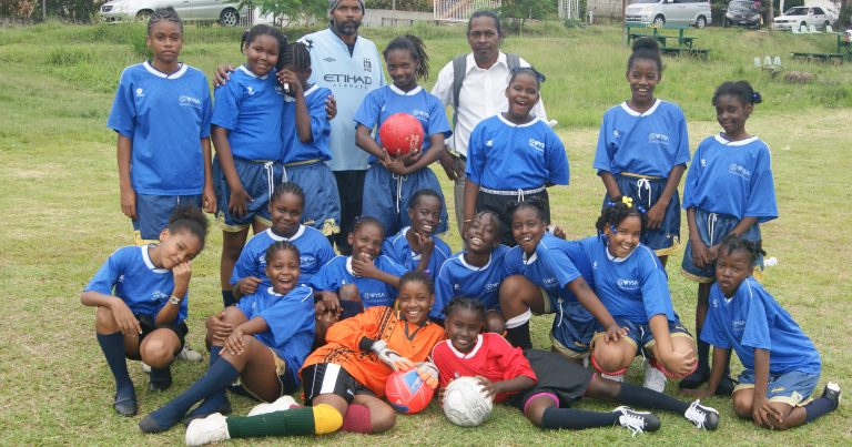 Pictures from  Primary Schools Girls Football Championship