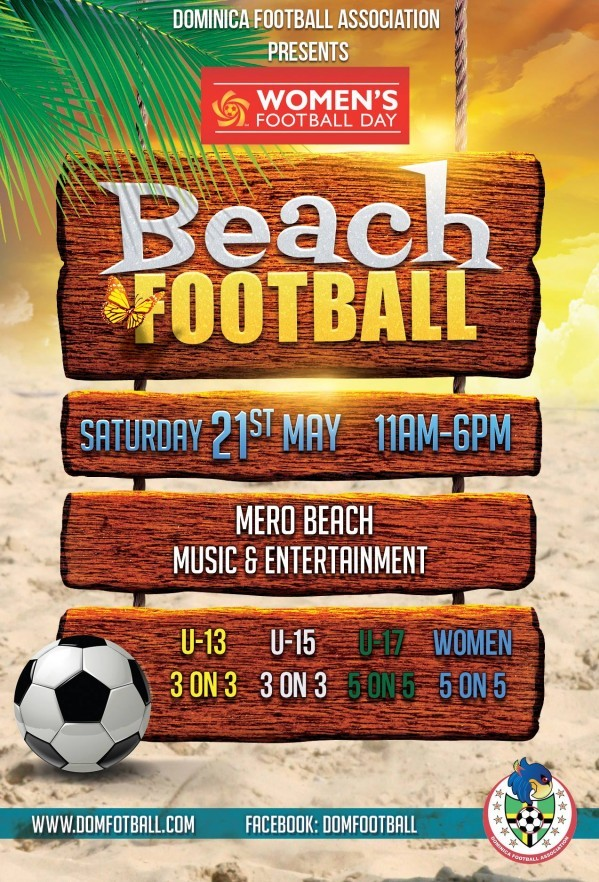 DFA Presents – Women's Beach Football