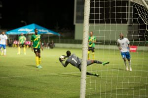 Prince in action for Dominica
