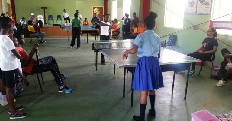 2017 Primary Schools Table Tennis District Festival