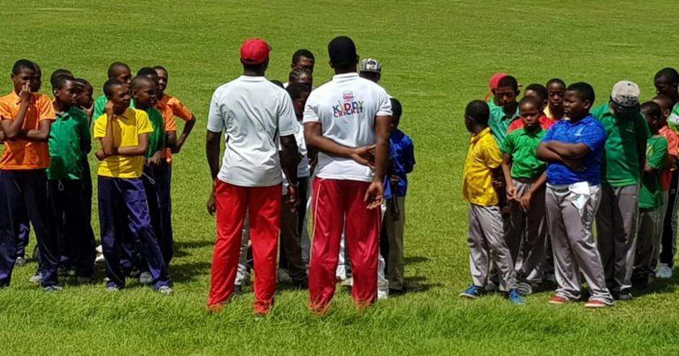 Primary Schools Cricket Bowled Off Earlier Today
